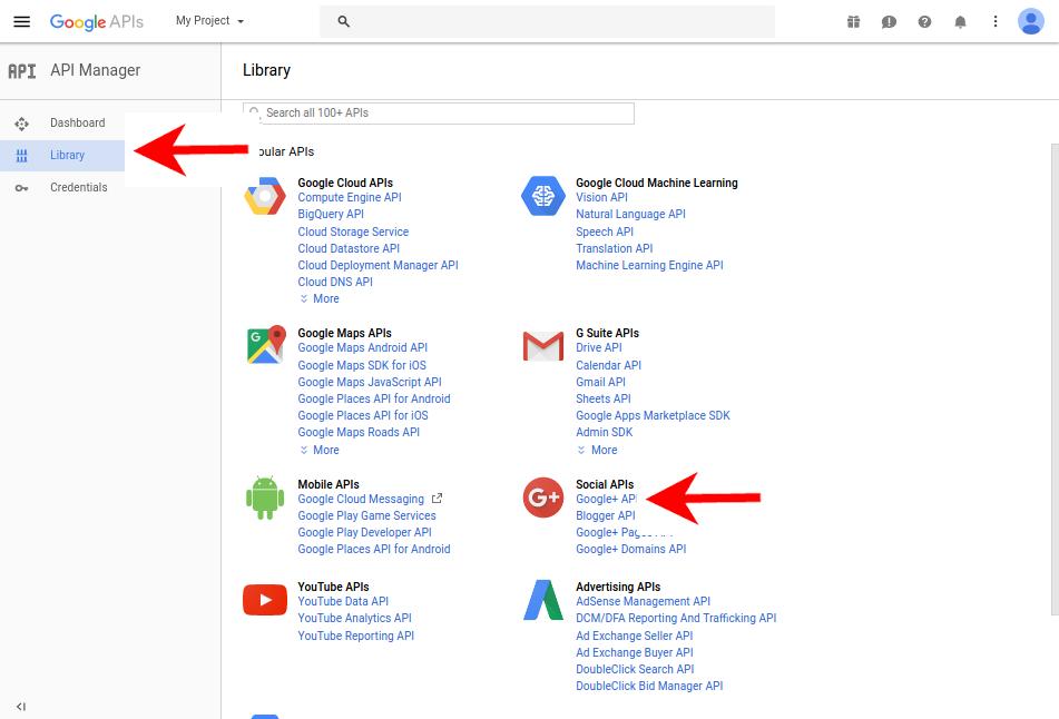 Google app secret